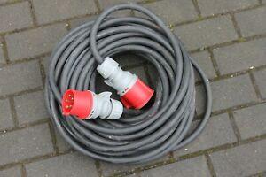 32A Verlängerungskabel-Starkstromkabel-Gummikabel H07RN-F5x6mm²