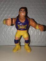 Kona Crush Hasbro WWF Brian Adams Wrestling Figure Rare HTF Vtg WWE WCW Series 7
