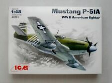 ICM 48161 Mustang P-51A- WWII American Fighter 1/48 plastic model  kit 205 mm