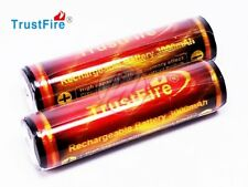 Trustfire Rechargeable 18650 3.7v 3000 Protected Li-ion PCB Battery x2