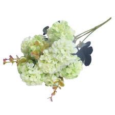 Flores Artificiales celebración fiesta Casa Boda Ramo falso 10 cabezas