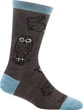 USA 1678 Taupe DARN TOUGH Crew Woodland Light Womens Run Socks S M L Wool