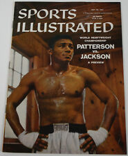 Floyd Patterson 1957 Sports Illustrated No Label 7/29/57 Ex 15477