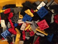 10 x Lego Small Strips Pieces Plates Flat MIXED FAST FREE UK POST