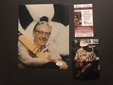 Charles Schulz Very Rare! signed autographed Peanuts 8x10 Photo JSA Cert