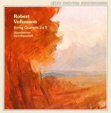 Volkmann: String Quartets 2 & 5 - Mannheim String Quartet (CD, 1994)