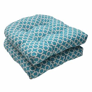 Patio Chair Cushion Set Of 2 Lawn Furniture Outdoor Seat Pillow Replacement Pads
