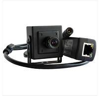 Mini 1MP 720P HD Hidden Micro IP Camera 3.6mm Lens ONVIF H.264 POE P2P Indoor