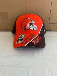 Cleveland Browns NFL '47 Brand Brown Venture MVP Adjustable Hat Brand New