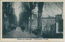 CARTOLINA d'Epoca  BERGAMO  - Romano di Lombardia : CIRCONVALLAZIONE