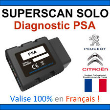 DEC SuperScan Solo PSA - Valise Diagnostic OBD2 - DiagBox Lexia PP2000 Autocom