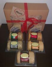 Cheese Hamper , 5 Flavors plus 2 Packs of Oatcakes , 2021 Dates