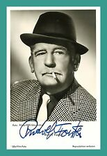 Rudolf Forster | acteur | original-AUTOGRAPHE sur starpostkarte