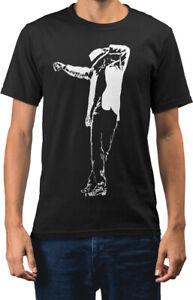 Michael Jackson Rock Icon Caricature New Mens T-shirt