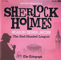 Sherlock Holmes - The Red Headed League Read by Derek Jacobi- Audio CD N/Paper