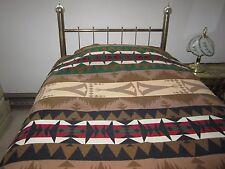 Vintage Pendleton Blanket Wool Tepee Pattern Indian Trade 1920's