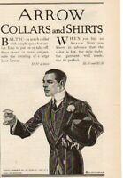 1912 J.C. Leyendecker Original Arrow Collars & Shirts Ad-Gentleman comes calling