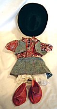 "Tender Treasures 10"" to 15"" Bear Western Girls Outfit Vest Boots Cowboy Hat"