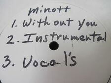 "MINOTT ""Without You"" Houston Texas Mod Soul TEST PRESS ** Hear ** f"