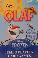 Cards Jumbo I'M OLAF DISNEY FROZEN Playing Deck NEW SV