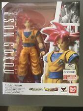 SH Figuarts Super Saiyan God Goku Red Original US Seller