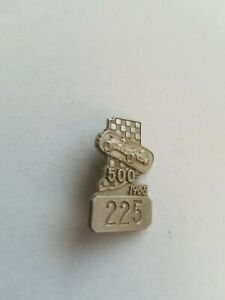 1968 indy 500 Pit Badge- Silver