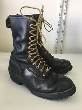 Vintage RED WING Work Safety Chore Boots Men's 10 E