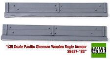 1/35 Pacific Sherman Wood Bogie Plank Armor M4A3 Set #B3 - Value Gear SB437