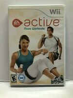 EA Sports Active More Workouts (Nintendo Wii) Fitness Game - Complete Tested