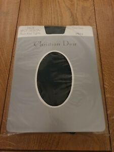 Women's Vintage Christian Dior Tights One Size Colour-Spruce(Green) spot design