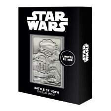 STAR WARS - BATTLE OF HOTH PLANET SCENE COLLECTABLE INGOT LIMITED EDITION 9,995