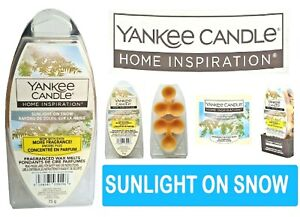 Yankee Candle – Sunlight On Snow Wax Melt Pack of 6 Fragrances 75g UK Seller