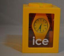 Ice Watch flache,Moderne Armbanduhr gelb/blau 2012 Collection