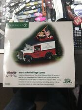 Department 56 Heritage Village AMERICAN PRIDE VILLAGE EXPRESS  NEW