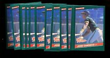 1986 DONRUSS ROOKIES #22 JOSE CANSECO RC LOT OF 25 MINT *INV1847