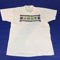Amy Grant Summer 1989 Vintage Concert T-Shirt Large White