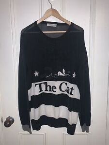 ICEBERG Sweatshirt Pullover Felix the Cat 199X Selten/Rare Vintage Crewneck L/XL