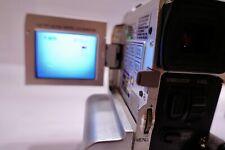 JVC GR-DVM90 MiniDV Camcorder w/ 3 Batteries, 2 New Tapes, 1 Adapter, +more