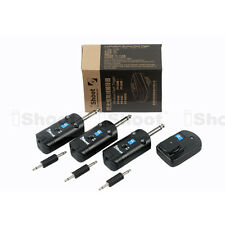 iShoot Studio Radio Wireless Flash Trigger for Strobe Light—3.5-6.35mm Sync Port