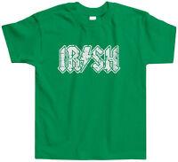 Irish Rock Star Toddler T-Shirt Tee St. Patricks Day Irish Pride Ireland Country