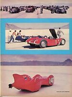 1966 Great Magazine Pic of Racers @ 18th Annual Bonneville National Speed Trials