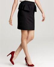 MARC BY MARC JACOBS Black Hannah Peplum Skirt ,size AUS 10-12, US M