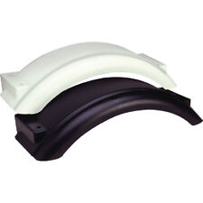 "Boat & Utility Trailer Polyethylene Black Plastic Fender for 8""-12"" Tire Wheel"