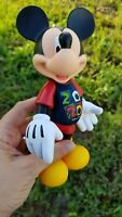 """2020 Mickey Mouse Articulated Figure Disney Parks NEW In Hand Figurine 7"""" Toy"""