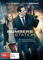 The Numbers Station (DVD) John Cusack Thriller [Region 4] NEW/SEALED