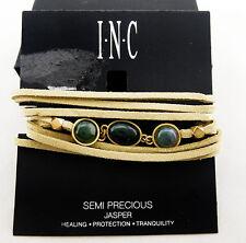INC International Concepts Semi-Precious Stone Wrap Bracelet Msrp $39.50 *NWT*