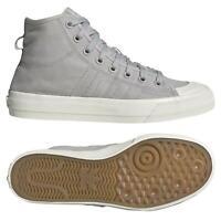 Adidas Originaux HOMME Agréable Hi RF Chaussures Gris Baskets Kicks Basketball