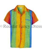 Camisas casuales de hombre de manga corta color principal multicolor
