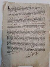 Doc 1712/chambre des comptes de Bretagne