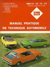 REVUE TECHNIQUE - EXPERT AUTOMOBILE  -  RENAULT 15 et 17